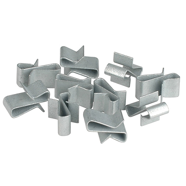 "C.E. Smith Trailer Frame Clips - Zinc - 3-8"" Wide - 10-Pack [16867A]"