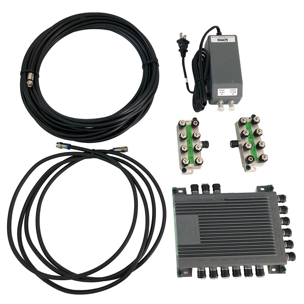 Intellian SWM-16 Kit - 16 CH Single Wire Multi-Switch (SWM) [SWM-16 KIT]
