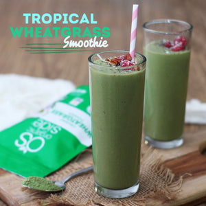 Tropical Wheatgrass Smoothie