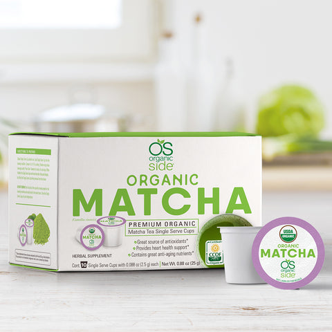 Matcha Single Serve Cups (Pack of 10 Kcups)