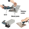 drill nibbler attachment online tools sheet metal cutter