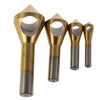 4pcs/set Countersink Deburring Drill Bit