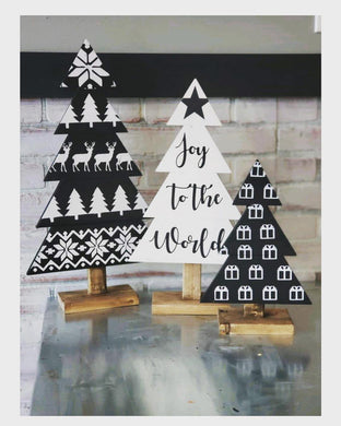 10/22/2018 6pm Christmas Tree Trio Workshop (Ocala)