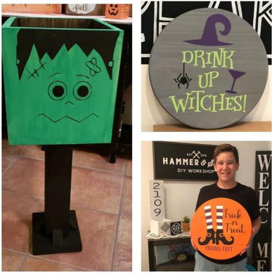 10/05/2018 6:30pm Spooky Halloween Decor Workshop (Crystal River)