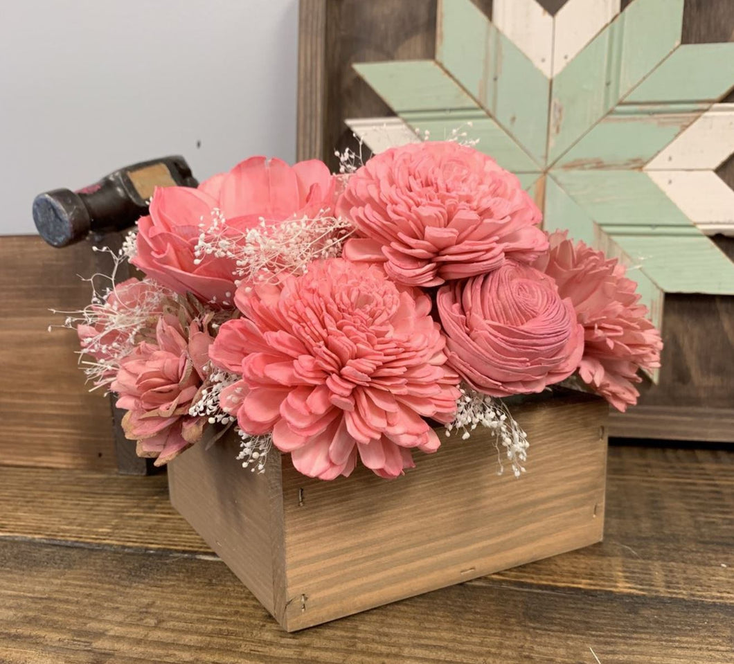 06/04/2019 (6:30pm) Wood Flowers Workshop (Crystal River)