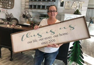 7/20/2018 (6:30pm) Oversized Planks/Welcome Sign Workshop