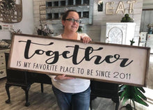 03/12/2019 (6:30pm) Oversized Planks/Welcome Sign Workshop