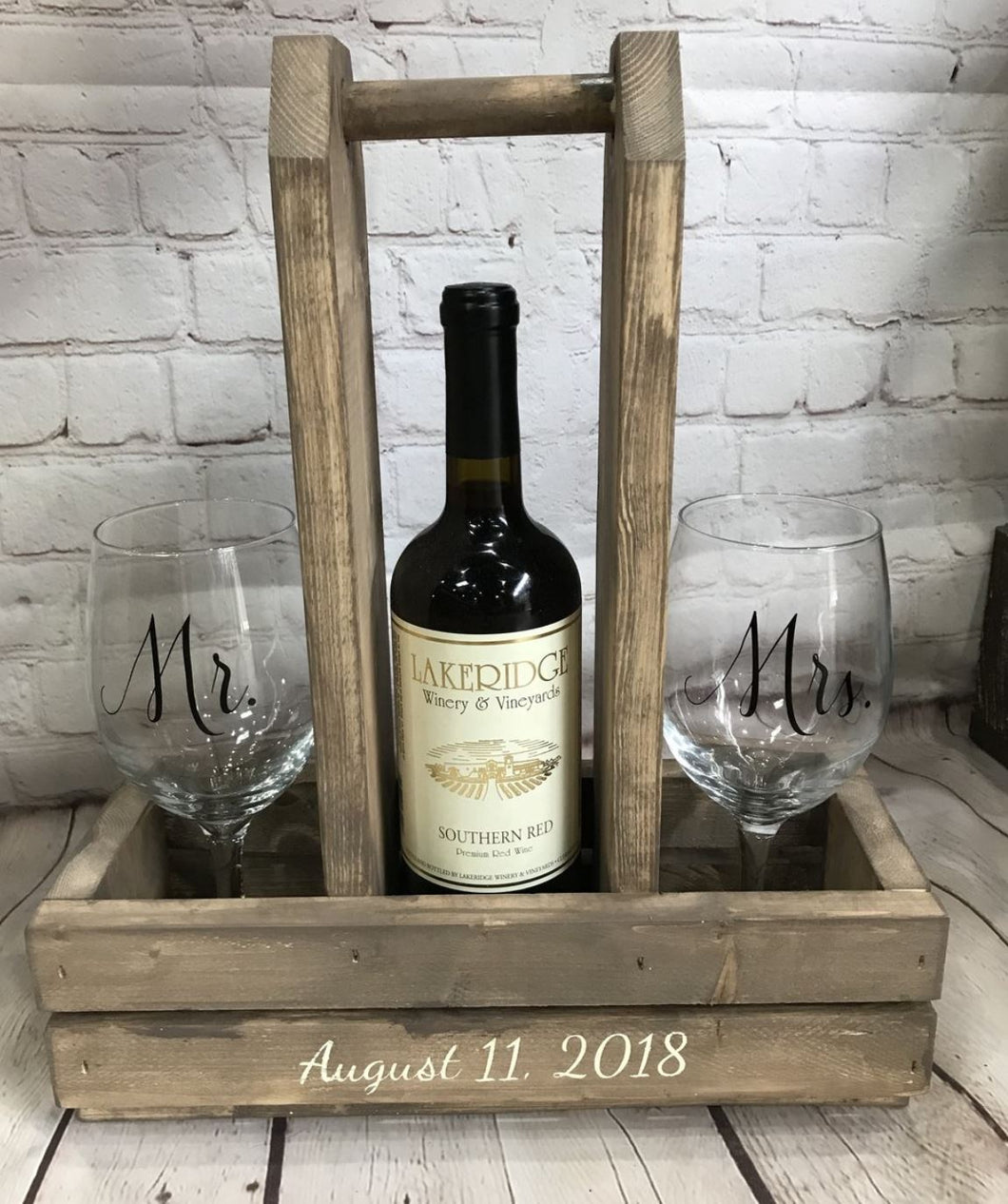 8/21/2018 6:30pm Beverage Tray & Wine Caddy Workshop (Gainesville)