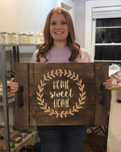 05/23/2019 (6:30pm) Wood Round or Farmhouse Tray Workshop  (Crystal River)