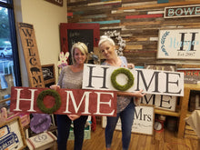 11/20/2018 (6pm) Oversized Planks/Welcome Sign Workshop