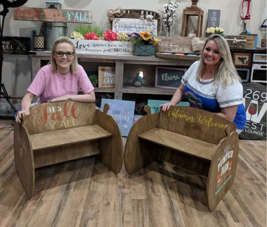 10/24/2018 (6:30pm) Pumpkin Bench Workshop (Ocala)
