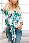 Drool Worthy Kimono Sleeve Top - White