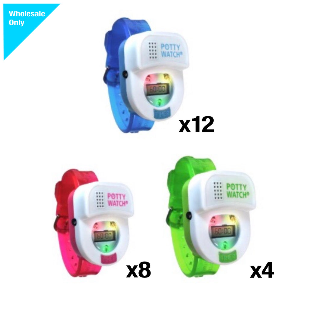 24 pc assorted potty watches (8, 8, 8)