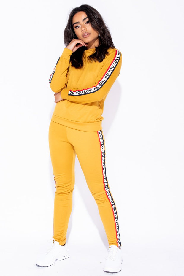 Image: Mustard Kiki Do You Love Me Loungewear Set