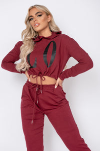 Wine Love Hoodie & Jogger Lounge Set