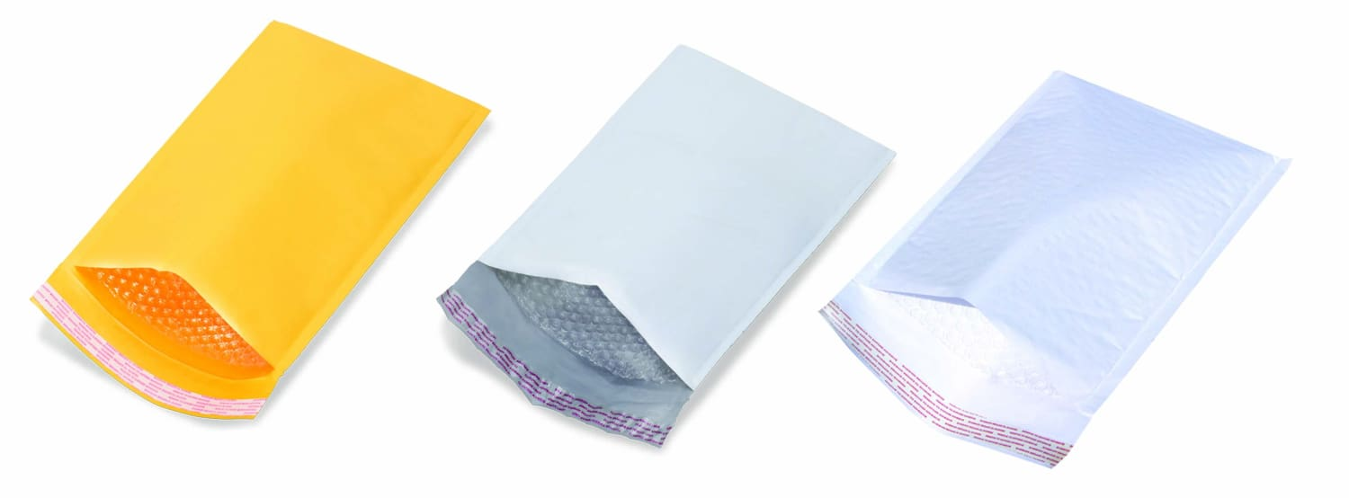 Poly Bubble Mailers vs. Kraft Bubble Mailers