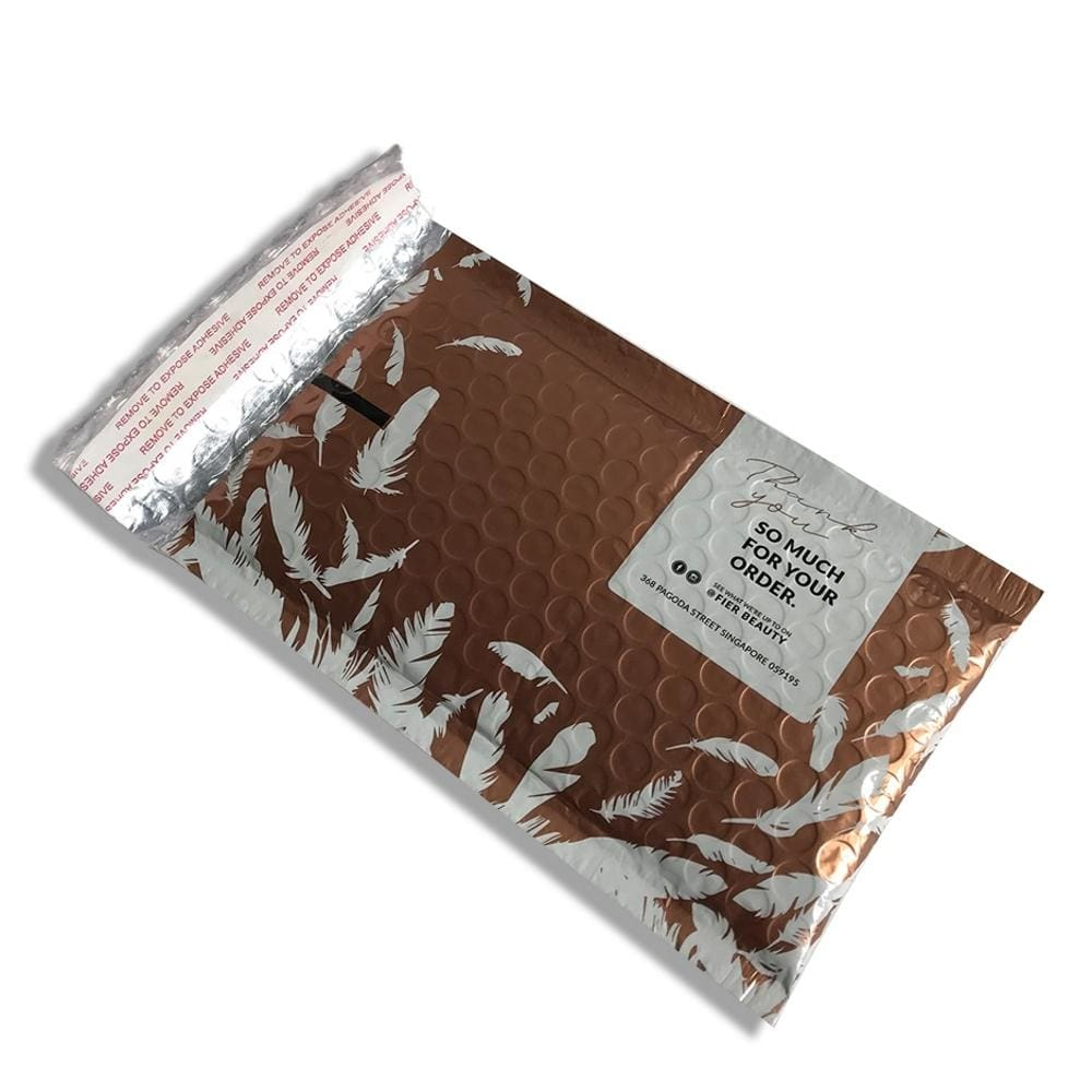 custom printed poly bubble mailers self seal padded
