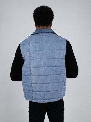 "The ""Splatter"" DENIM VEST"