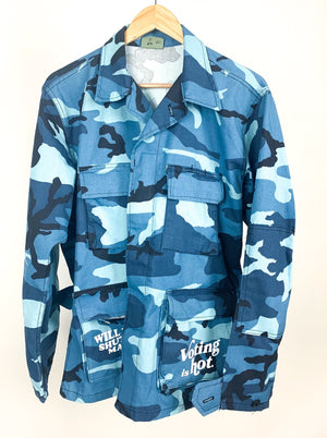 """Duke the Kooks"" Camo Utility Jacket"