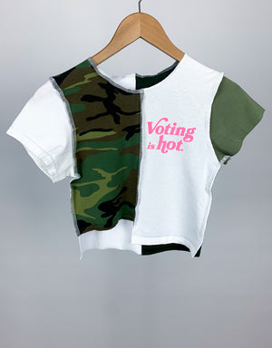 """Army Bratz"" Crop"