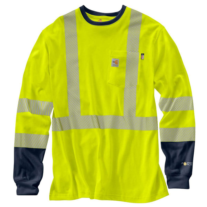 3b28b7c818 FR High-Visibility Force Long-Sleeve T-Shirt / Brite Lime by Carhartt
