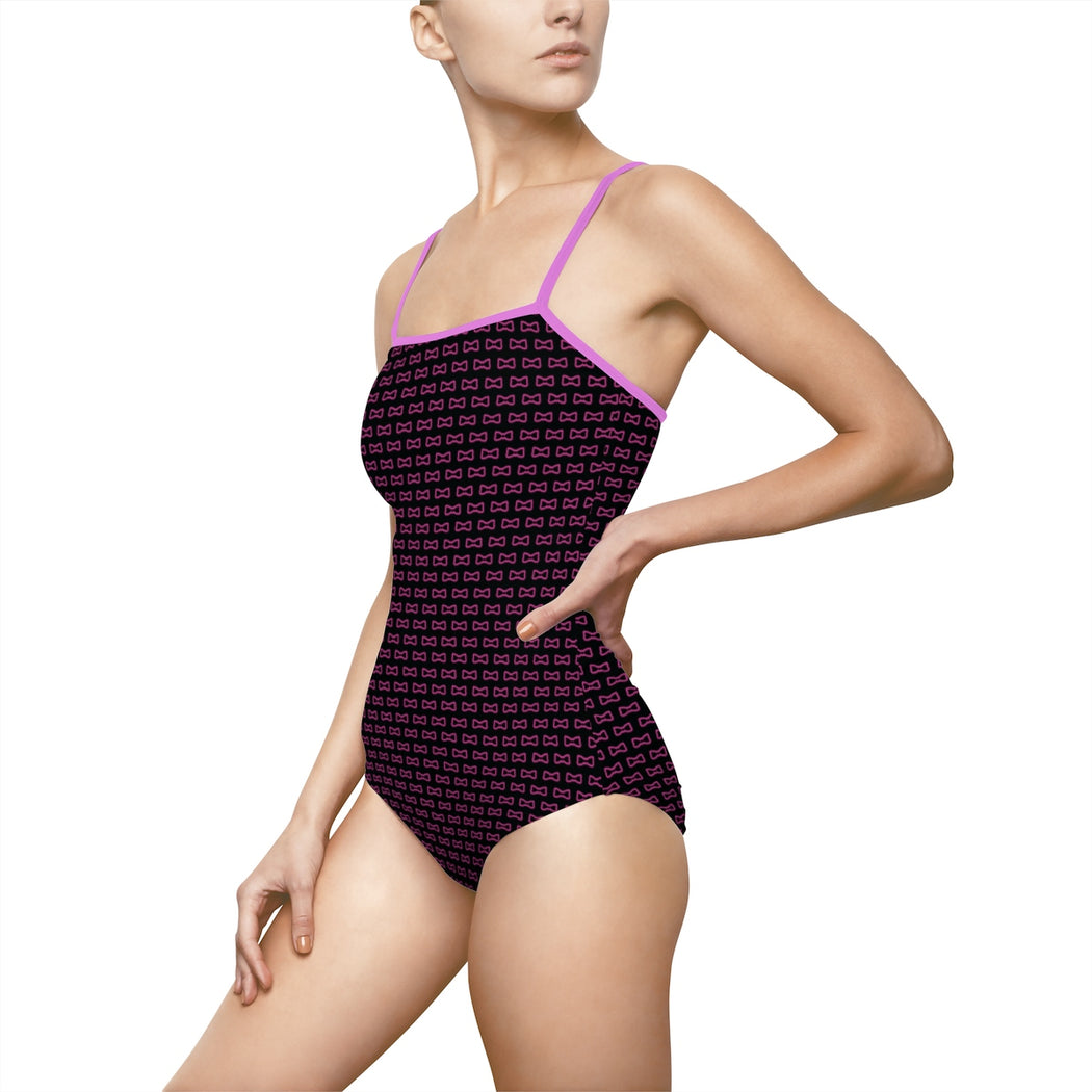 Lady B One-piece Swimsuit Black