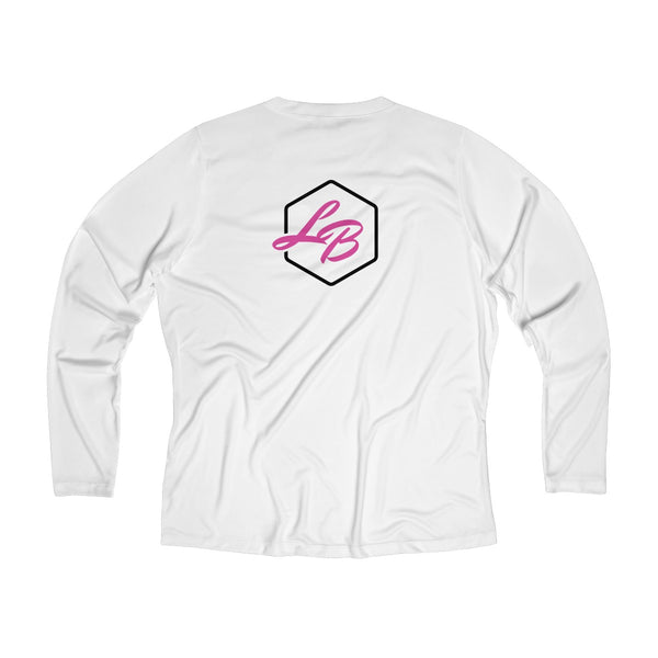 LB Women's Long Sleeve Performance V-neck Tee