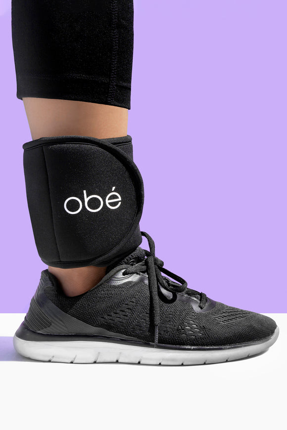 obé ankle weights, 1.5lbs