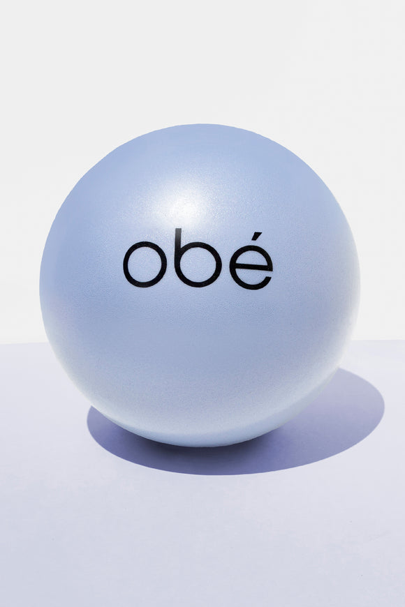 obé barre ball, purple