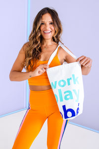 work play obé tote
