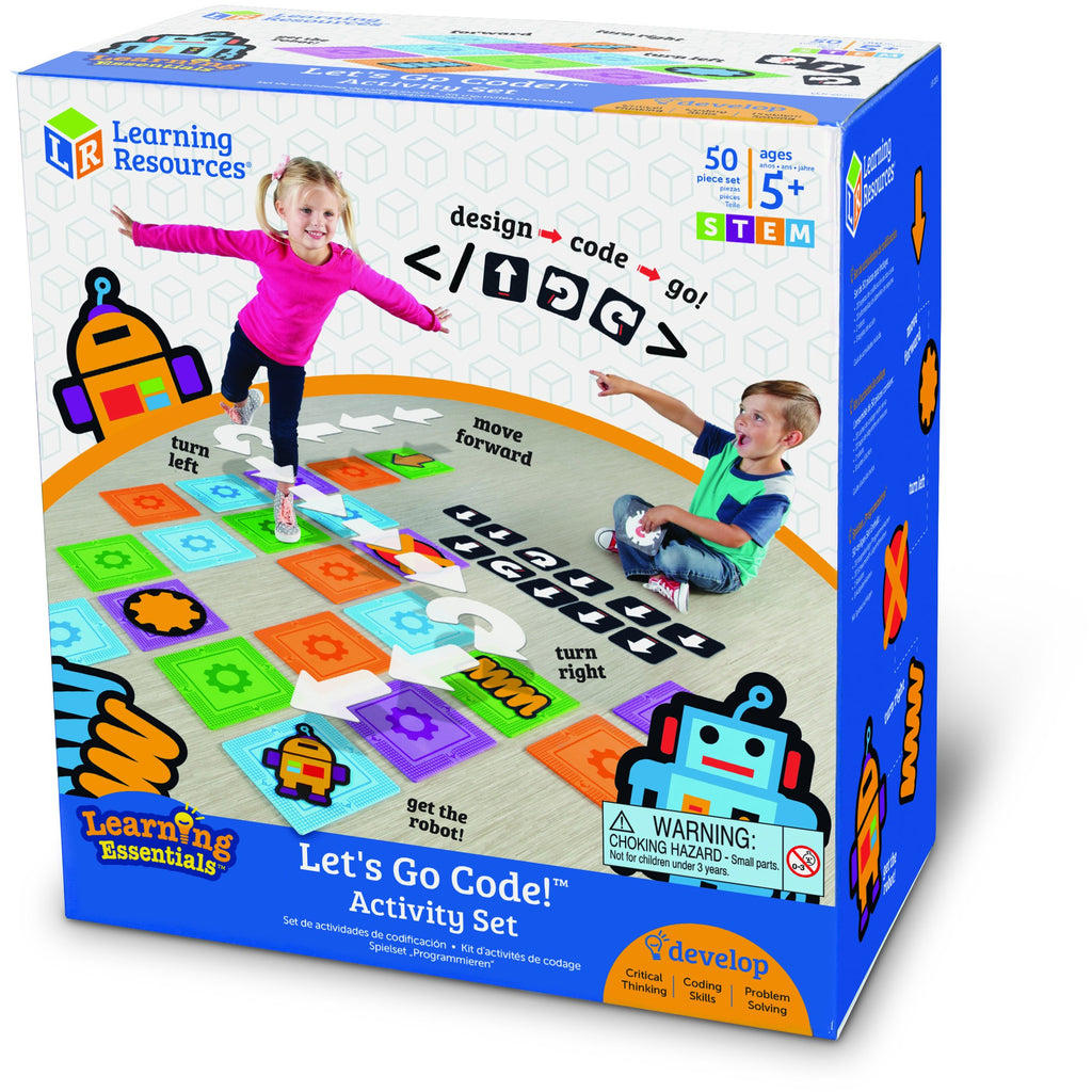 Let's Go Code! activity set!