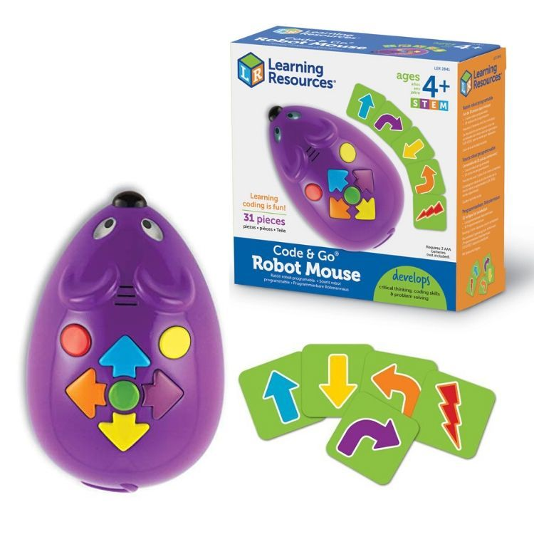 CODE & GO® Individual Robot Mouse
