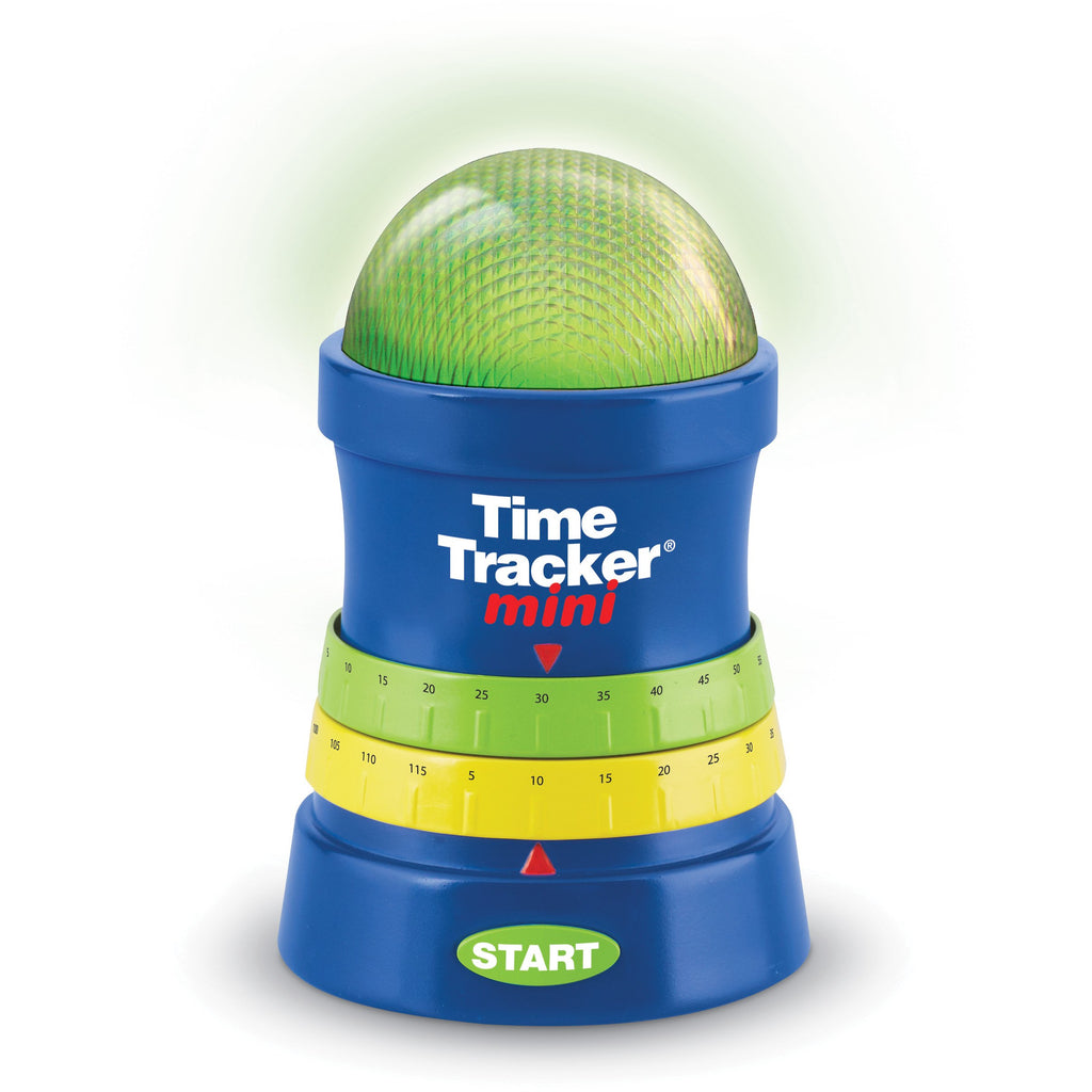 TIME TRACKER® MINI offers unique visual and auditory indicators, including a warning alarm.