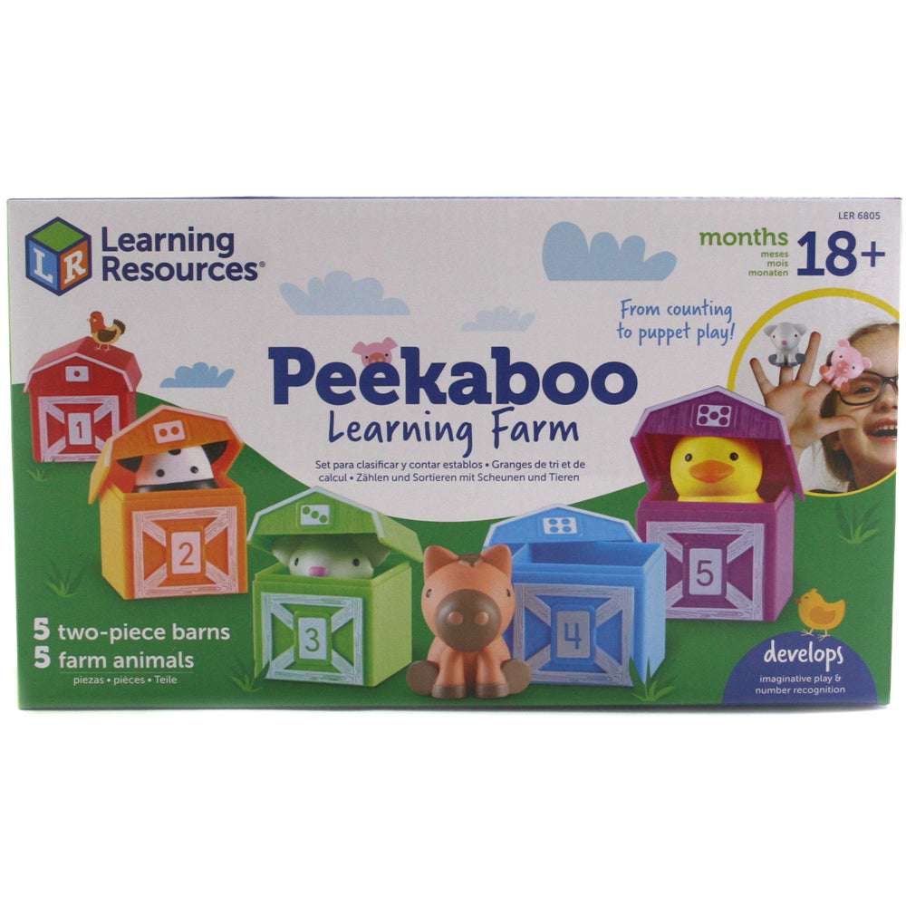 PEEKABOO LEARNING FARM