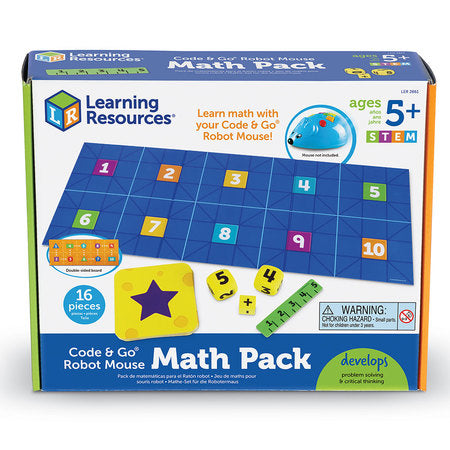 CODE & GO® ROBOT MOUSE MATH PACK