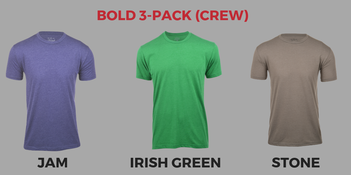 Fresh Clean Tees March Colors