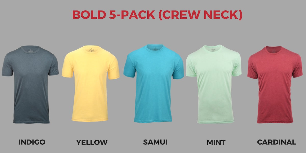 Fresh Clean Tees November Colors