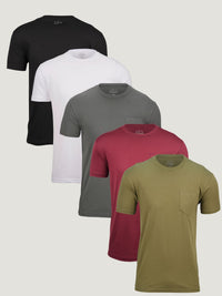 Pocket Crew Foundation 5-Pack (100% Cotton)