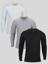 Long Sleeve Basic 3-Pack