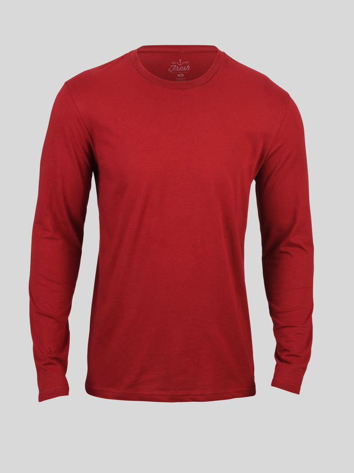 Cardinal Long Sleeve Crew Neck