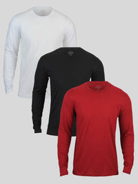 Long Sleeve Foundation 3-Pack