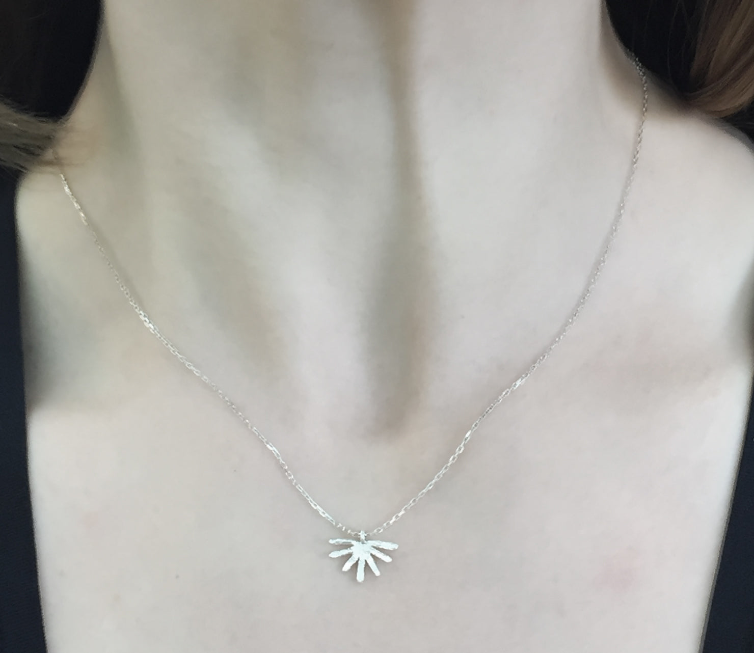 Flow Fan Necklace