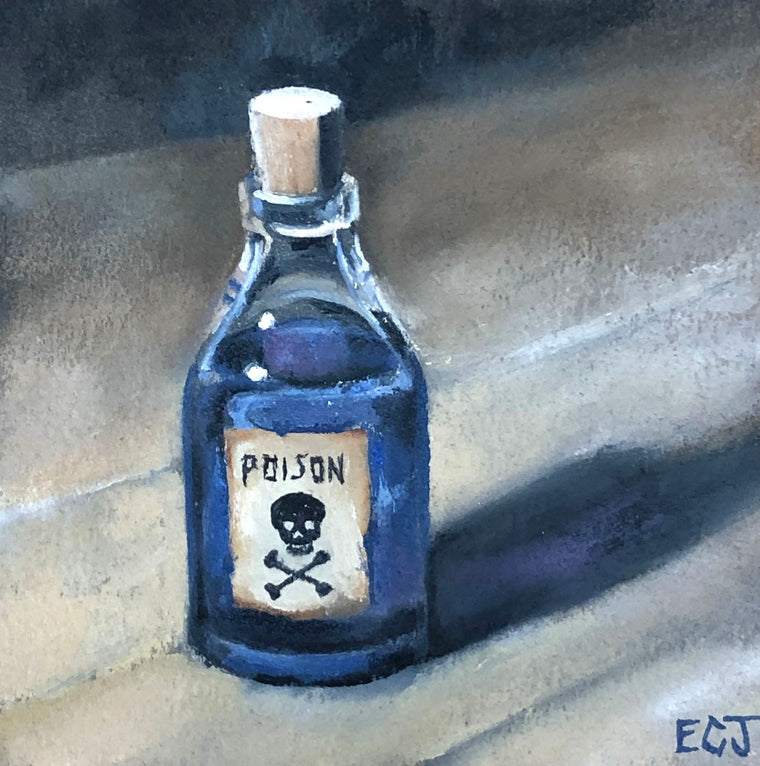 Blue Poison Bottle, 5