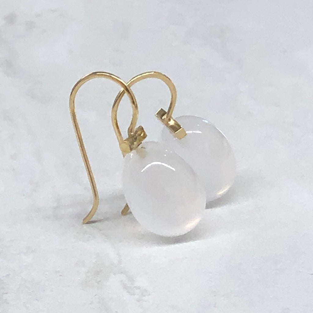 Milky Quartz Bar Drops