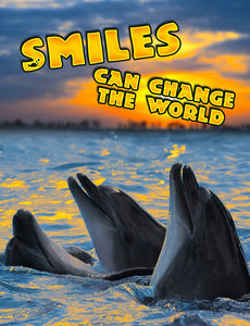 Smiles Can Change the World Journal/Notebook 185 pgs.
