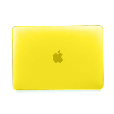 Funda, case, protector, case amarillo. Macbook Pro 13, Air 13, Retina 13.