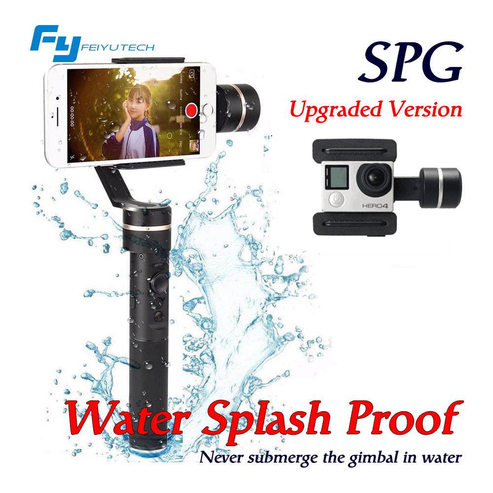 Feiyutech Spg 3 Axis Handheld Gimbal Stabilizer Feiyu Steady For Smartphones Extra Battrey