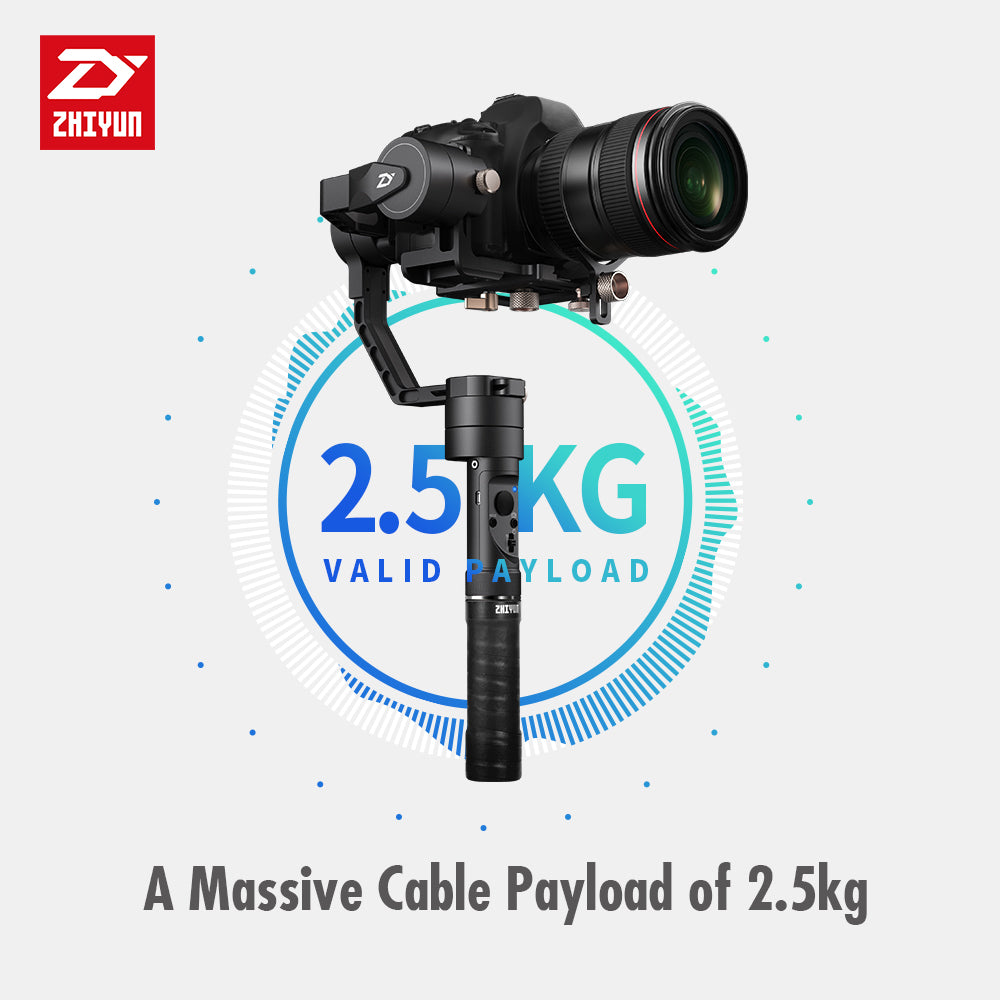 Handheld Gimbal Stabilizer Zhiyun Crane Plus 3 Axis For Dslr Camera Tripod Pole 3axis M Smooth Q