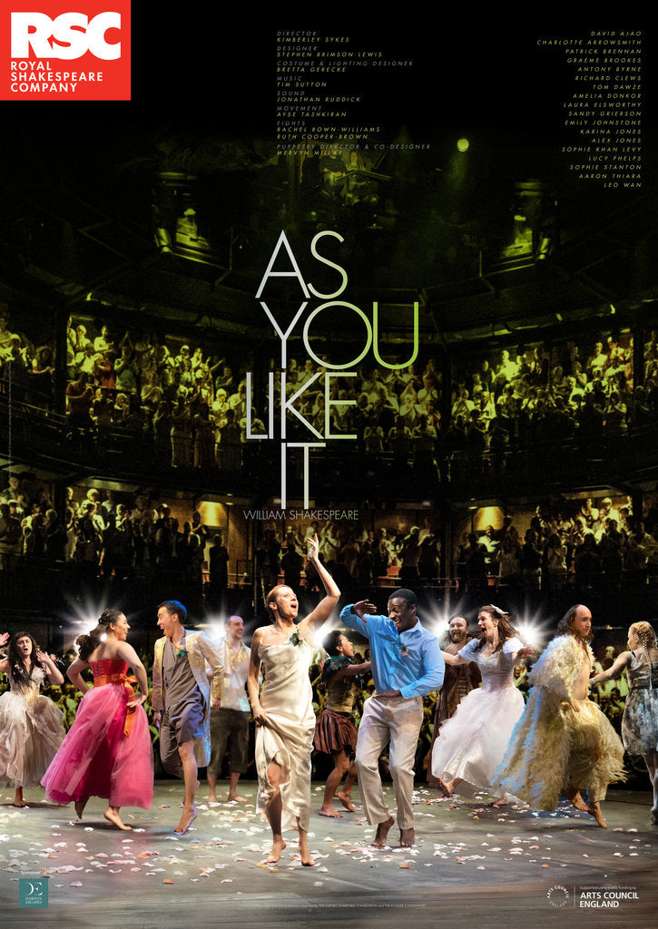 Detail of As You Like It, 2019 by Royal Shakespeare Company