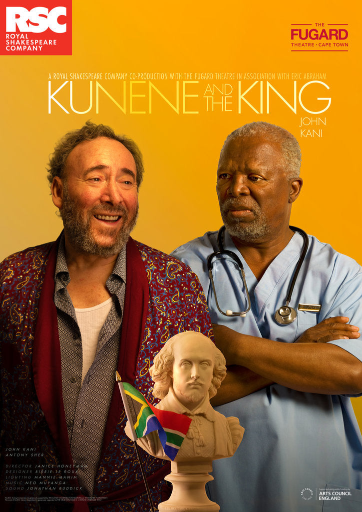 Detail of Kunene and The King, 2019 by Royal Shakespeare Company